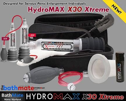 Bathmate Hydromax Xtreme X30 reviews